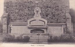 22453 Pacé Pace -35 France - Le Monument ; Sans éditeur - Guerre 14-18 Morts