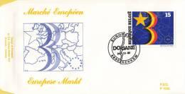 België - FDC 1035 - 24 Oktober 1992 - Openstelling Van De Europese Markt - OBP 2485 - FDC
