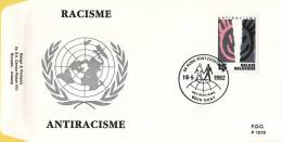 België - FDC 1016 - 16 Mei 1992 - Antiracisme - OBP 2456 - FDC