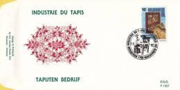 België - FDC 1007 - 1009 - 7 Maart 1992 - Prestige Beroepen - OBP 2445 - 2447 - FDC