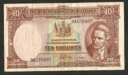 [NC] NEW ZEALAND - THE RESERVE BANK Of NEW ZEALAND - 10 SHILLINGS - Nuova Zelanda