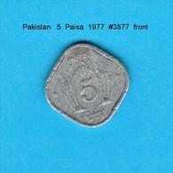 PAKISTAN    5  PAISA  1977   (KM # 35) - Pakistan