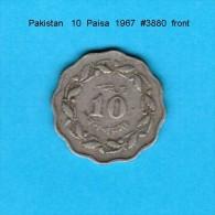 PAKISTAN    10  PAISA  1967   (KM # 27) - Pakistan