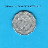 PAKISTAN    10  PAISA  1976   (KM # 36) - Pakistan