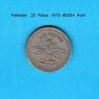 PAKISTAN    25  PAISA  1970   (KM # 30) - Pakistan