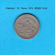 PAKISTAN    25  PAISA  1974   (KM # 30) - Pakistan
