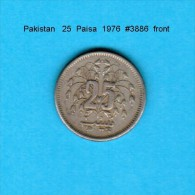 PAKISTAN    25  PAISA  1976   (KM # 37) - Pakistan