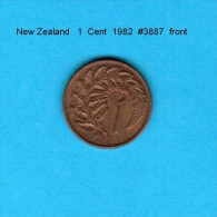 NEW ZEALAND    1  CENT  1982   (KM # 31) - New Zealand