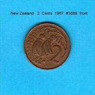 NEW ZEALAND    2  CENTS  1967   (KM # 32) - New Zealand