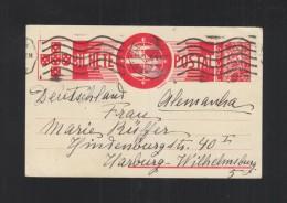 Portugal Stationery 1936 To Germany - Postal Stationery