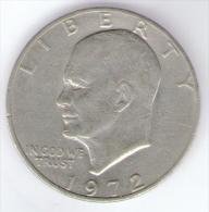 STATI UNITI ONE DOLLAR 1972 - Emissioni Federali