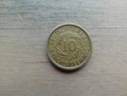 Allemagne  10 Reichspfennig  1931 A  Km40 - [ 3] 1918-1933 : Weimar Republic