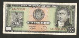 [NC] PERU' - BANCO CENTRAL De RESERVA Del PERU' - 100 SOLES (1974) - Peru