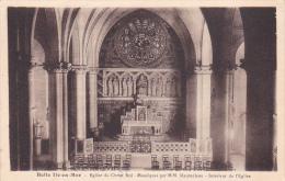 22457 BELLE-ILE-en-MER - Eglise  Christ Roi - Mosaïques  Maumé Jean. Interieur Eglise -laurent Nel R Ph. Decker Vannes  - Belle Ile En Mer