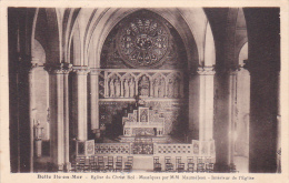 22457 BELLE-ILE-en-MER - Eglise  Christ Roi - Mosaïques  Maumé Jean. Interieur Eglise -laurent Nel R Ph. Decker Vannes