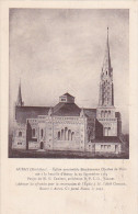 22459 Auray Eglise Charles Blois Projet Souscription Briques (3fr). Facade Abbé Chevassu -Menu 1939 Chamoine Blarez - Auray