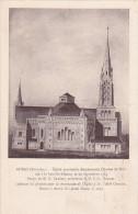 22459 Auray Eglise Charles Blois Projet Souscription Briques (3fr). Facade Abbé Chevassu -Menu 1939 Chamoine Blarez