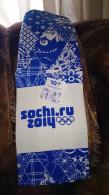 Russia  2014 Sochi 2014 Olympics Souvenir - Cotton Towel For Kitchen - Apparel, Souvenirs & Other