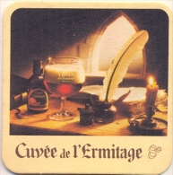 #D77-176 Viltje Cuvée De L'ermitage - Sous-bocks