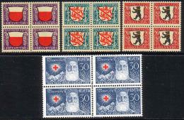 PRO JUVENTUTE 1928 Bloc De 4 ** / MNH Série Complète SBK 36,- à 20 % - Pro Juventute