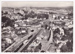 Saint Leu D'Esserent - Vue Générale (gare Et Voies Ferrées Au Premier Plan) Circulé 1963 - Altri Comuni