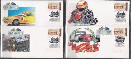 Australia 1992 Formula One Grand Prix 4 X Souvenir Envelopes - Cars