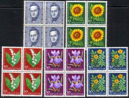 PRO JUVENTUTE 1961 Bloc De 4 ** / MNH Série Complète SBK 20,- à 20 % - Neufs