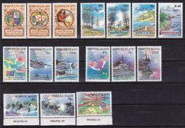NORFOLK ISLAND 1992 Jahrgang ** Postfrisch - Ile Norfolk