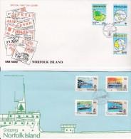 NORFOLK ISLAND 1991 Lot 7 FDC - Ile Norfolk