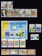 NORFOLK ISLAND 1988 Jahrgang ** Postfrisch - Ile Norfolk