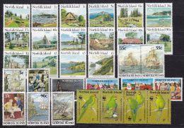 NORFOLK ISLAND 1987 Jahrgang ** Postfrisch - Ile Norfolk