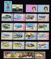 NORFOLK ISLAND 1980 Jahrgang ** Postfrisch - Ile Norfolk