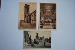 Ath Lot 3 Cartes:le Viaduc + Tour St Julien + Eglise St Julien - Ath