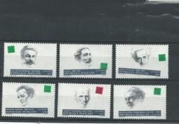 N° 2799 A 2804**  Personnages Célèbres.  (1993) - France