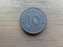 allemagne  10 reichspfennig  1943 d  km101