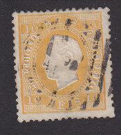 Portugal, Scott #35, Used, King Luiz, Issued 1871 - 1862-1884 : D.Luiz I