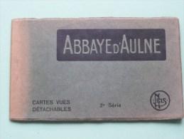 ABBAYE D'AULNE ( 2me Série ) Carnet 10 CP ( Zie Foto´s Voor Details ) !! - Thuin