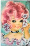"""Big Eyes Girl. Jeune Fille En Tenue """"Pompadour"""" - Portraits"""