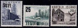 NORFOLK ISLAND 1960 Satz Mi.# 37-39 ** Postfrisch - Ile Norfolk