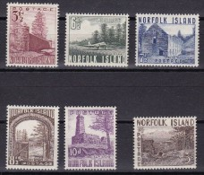 NORFOLK ISLAND 1953 Satz Mi.# 15-20 ** Postfrisch - Ile Norfolk