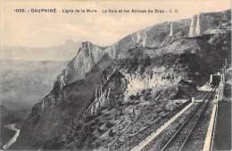 CHEMIN DE FER TRAIN DE LA MURE - La Mure