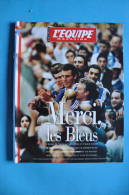 """HORS SERIE L' EQUIPE MAGAZINE Du 18 JUILLET 1998 """"MERCI LES BLEUS"""" - Soccer"""