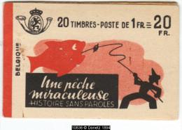 10836 Carnet A35a Peche Miraculeuse, Complet COB 240.- - Booklets 1907-1941