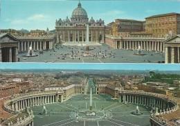 Vatican  -  St. Peter`s Square & Basillica   B-2885 - Vatican