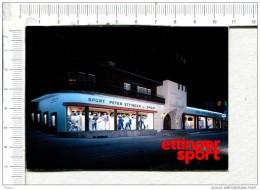 L317 -   Plaquette Publicitaire  Double -  ETTINGER  SPORT  -  DAVOS  Dorg - Placas De Cartón