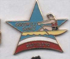Beau Pin's En EGF , Aviron , Googwill Games , Seattle  , Jeux - Roeisport