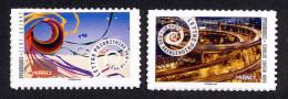 France 2014 - Les Dynamiques Echangeur Et Cerf Volant ** (AUTOCOLLANTS - Entreprises) - France