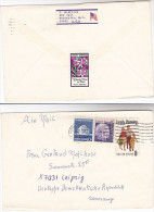 1975 USE COVER OMAHA Nebraska HOME FOR BOYS EASTER LABEL Mail To Germany Stamps United States - Cinderellas