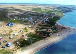 1 AK Canada * Northwest Territories * Banks Island Mit Dem Ort Sachs Harbour - Banks Ist Die Fünftgrößte Insel Kanadas - Northwest Territories
