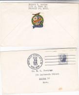 1963 USA Cover  ARIZONA STATE CENTENNIAL BIRD LABEL  United States Stamps Birds - Cinderellas